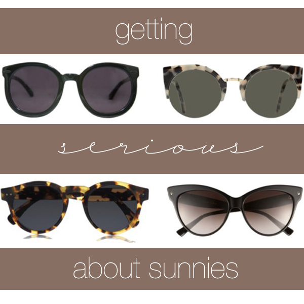 serious about sunnies